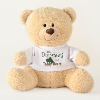 I Like Dinosaurs and Teddy Bears