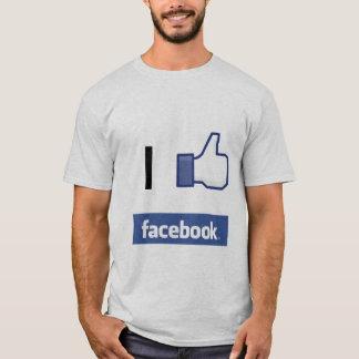 I like Facebook T-Shirt