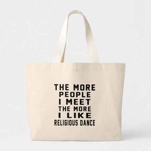I like More Religious Tote Bags