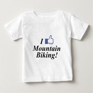 I LIKE MOUNTAIN BIKING! TSHIRTS