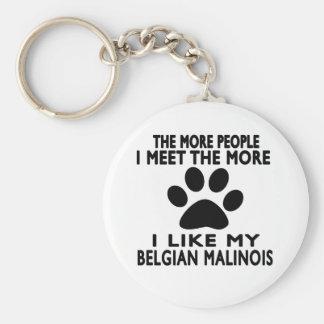 I like my Belgian Malinois. Key Ring