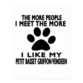 I like my Petit Basset Griffon Vendeen. Postcard