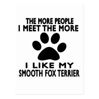 I like my Smooth Fox Terrier. Postcard