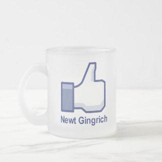 I LIKE NEWT GINGRICH COFFEE MUG