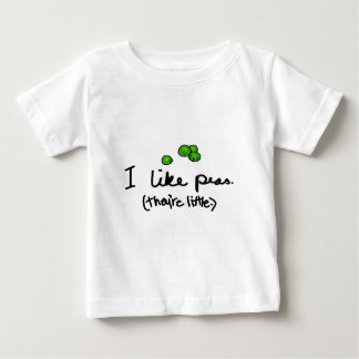 I Like Peas Baby T-Shirt
