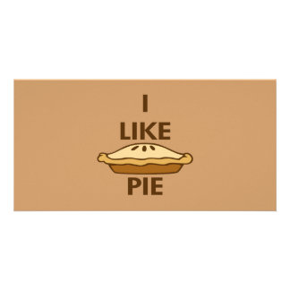 I Like Pie Picture Card