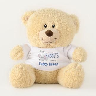 I Like Rabbits and Teddy Bears