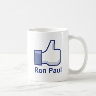 I LIKE RON PAUL COFFEE MUG
