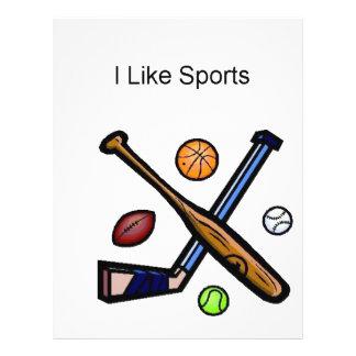 I like sports flyer design