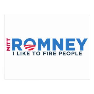 I Like T Fire People Postcard