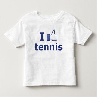 I Like Tennis Toddler T-Shirt