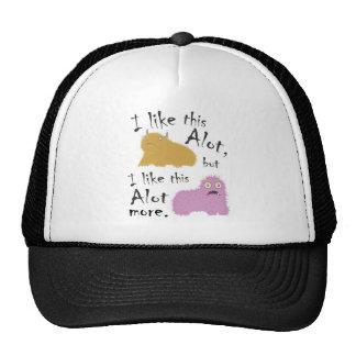 I Like This Alot, But I Like This Alot More Mesh Hats