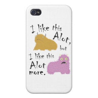 I Like This Alot, But I Like This Alot More Covers For iPhone 4
