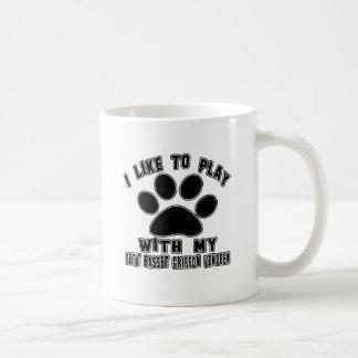 I like to play with my Petit Basset Griffon Vendee Coffee Mug