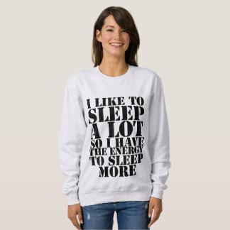 I Like To Sleep Sweater