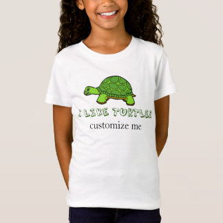 I Like Turtles Cute Custom T-Shirt