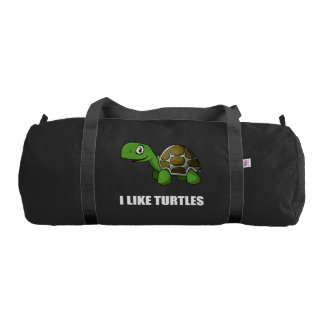 I Like Turtles Gym Bag