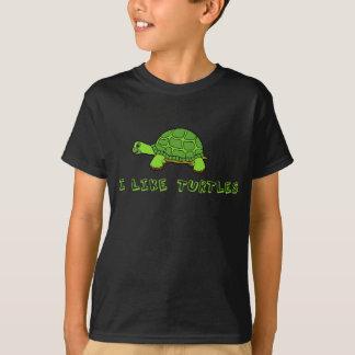 I Like Turtles Kids T-Shirt