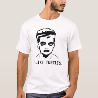 I LIKE TURTLES. T-Shirt