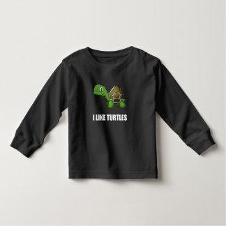 I Like Turtles Toddler T-Shirt