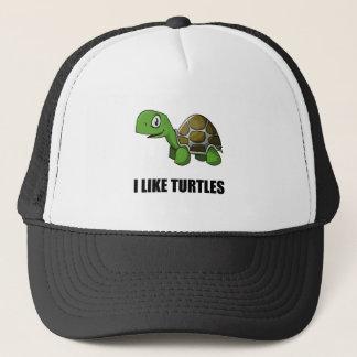 I Like Turtles Trucker Hat