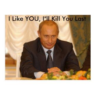 I Like YOU I ll Kill You Last Post Cards