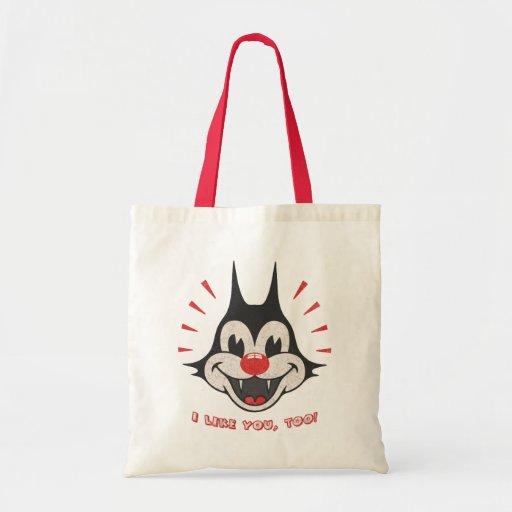 I Like You, too! Tote Bag