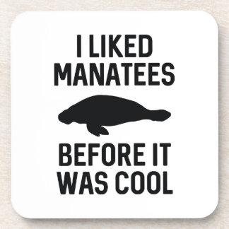 I Liked Manatees Coaster