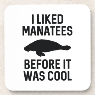 I Liked Manatees Coasters