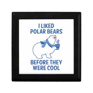 I Liked Polar Bears Gift Box
