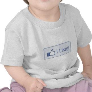 I Likey  Facebook T-shirt