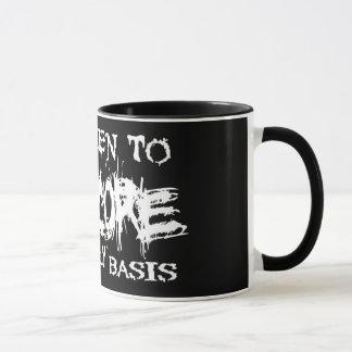 I Listen To Grindcore Mug