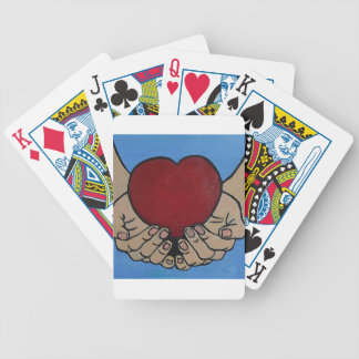 I live 4 U Bicycle Playing Cards