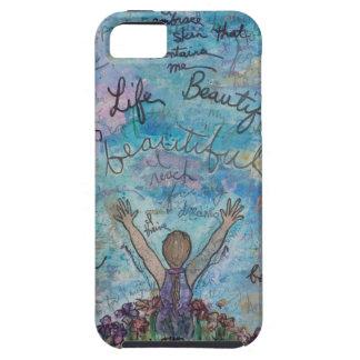I live life beautiful tough iPhone 5 case