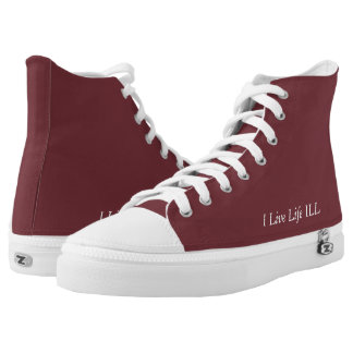 I Live Life ILL - The Jimmy Z's Collection High Tops