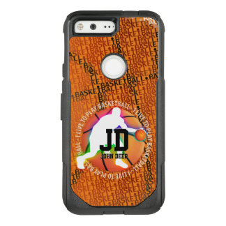 I Live To Play Basketball | Sport Cool Gifts OtterBox Commuter Google Pixel Case