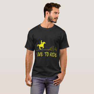 I Live To Ride Horse Riding Tshirt