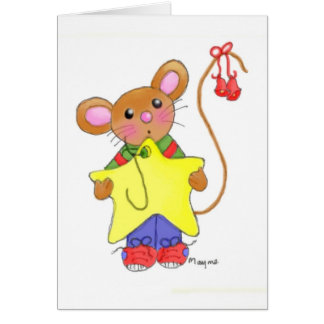 I ll Hang the Highest Star Greeting Card