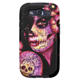 I ll Never Forget Day of the Dead Girl Galaxy S3 Cases