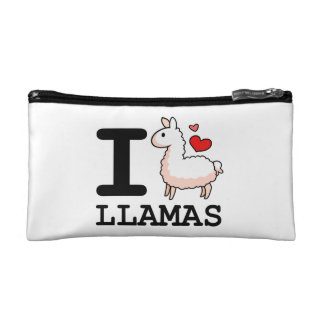 I Llama Llamas Makeup Bag