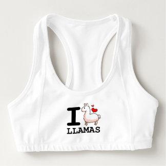 I Llama Llamas Sports Bra