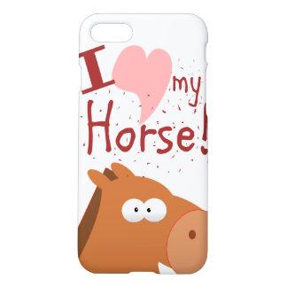 i llove my horse iPhone 8/7 case