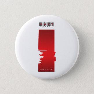 """"""" i """" logo 6 cm round badge"""