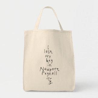 I lost my bag... tote bag