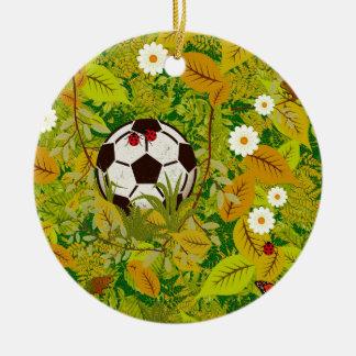 I lost my ball ceramic ornament