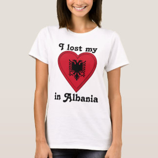 I lost my heart in Albania T-Shirt