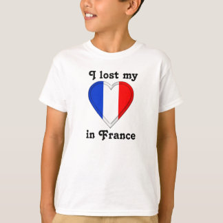 I lost my heart in France Tee Shirts