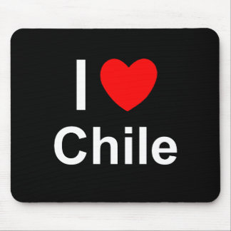 I Lovce Heart Chile Mouse Pad