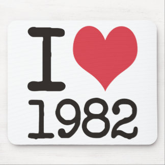 I Love1982 Products & Designs! Mouse Pads