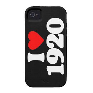I LOVE 1920 Case-Mate iPhone 4 CASES